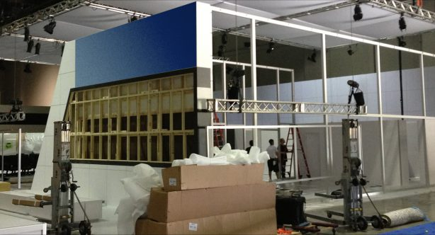 group esi installation montage stand salons expositions